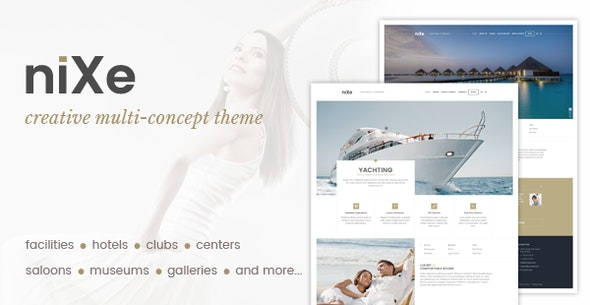 Nixe | Hotel, Travel and Holiday WordPress Theme - Travel Retail