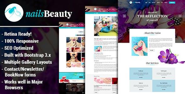 NailsBeauty - Nail, Spa and Beauty HTML Template