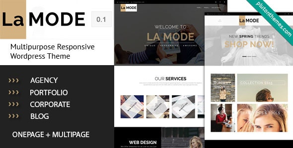 La Mode - Multipurpose WordPress Theme - Business Corporate