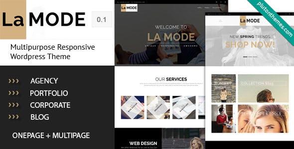 La Mode - Multipurpose WordPress Theme