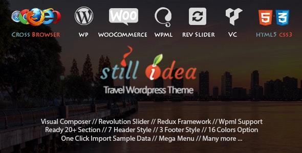 Stillidea - Travel Tour Multipurpose WP Theme - Travel Retail