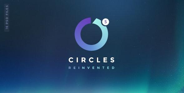 Circles 5 | Mutil-Concept Creative PSD Template - Creative Photoshop