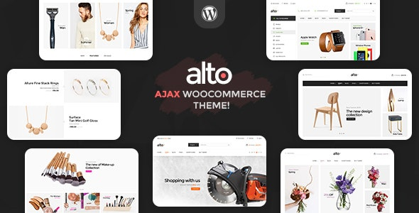 Alto | Awesome Ajax WooCommerce Theme - WooCommerce eCommerce