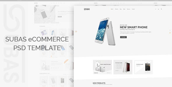 Subas - eCommerce PSD Template - Electronics Technology