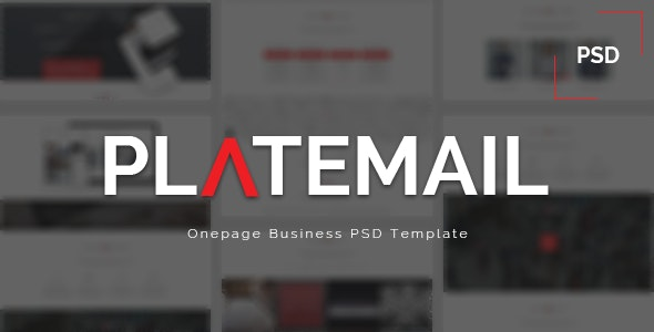 Platemail - PSD - Business Corporate