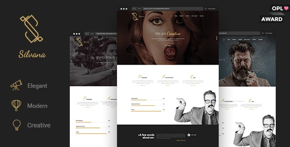 Silvana - Agency Unbounce Landing Page  - Unbounce Landing Pages Marketing