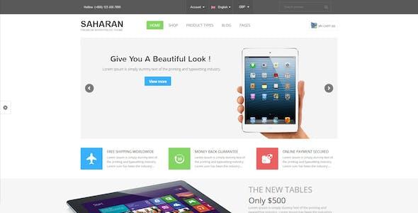 SAHARAN - Responsive WordPress Theme