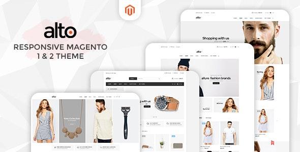 Alto - Responsive Magento 1 & 2 Theme - Magento eCommerce