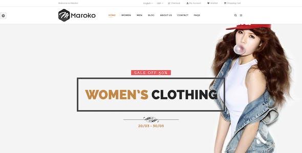 Maroko - Responsive WordPress Fashion Theme