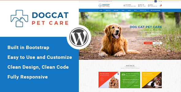 Pet Care - Veterinary WordPress Theme - Health & Beauty Retail