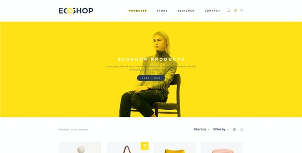 ECOSHOP - Multipurpose eCommerce PSD Template
