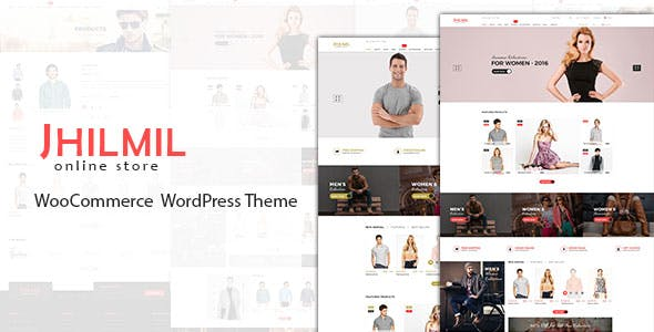 Jhilmil - WooCommerce WordPress Theme