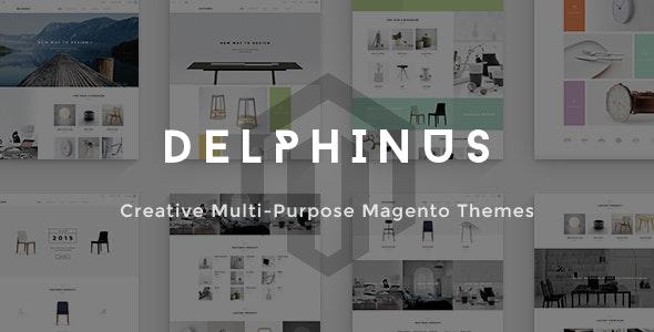 Delphinus - Creative Multi-Purpose Magento Theme - Magento eCommerce