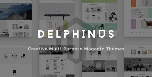 Delphinus - Creative Multi-Purpose Magento Theme by linharex