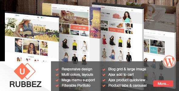 Rubbez- WooCommerce & Corporate WordPress Theme - WooCommerce eCommerce