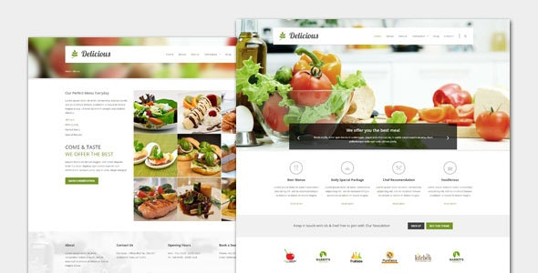 Delicious - Food and Restaurant WordPress Theme - Food Retail