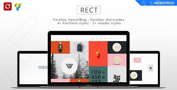 RECT - Minimal Portfolio Bootstrap Theme - Portfolio Creative
