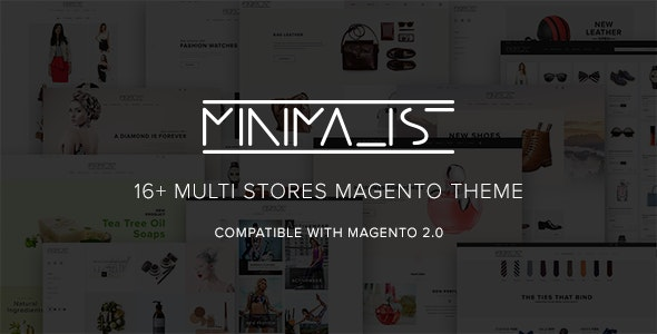 Minimal - Responsive Magento 2.0 Theme for Fashion & Jewelry Stores - Magento eCommerce
