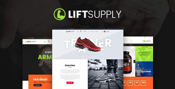 Pts Liftsupply - Powerful multipurpose Prestashop theme - PrestaShop eCommerce