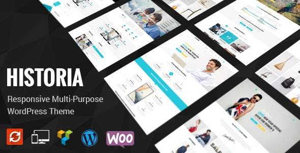 Historia - Responsive Multi-Purpose WordPress Theme - Business Corporate