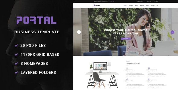 Portal - Business Template - Business Corporate