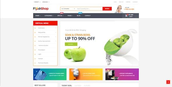 FlashShop - Responsive Prestashop Theme for Digital Store