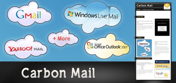 Carbon Mail - Newsletters Email Templates
