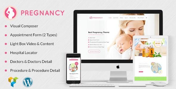 Pregnancy Medical, Gynaecologist WordPress by designthemes
