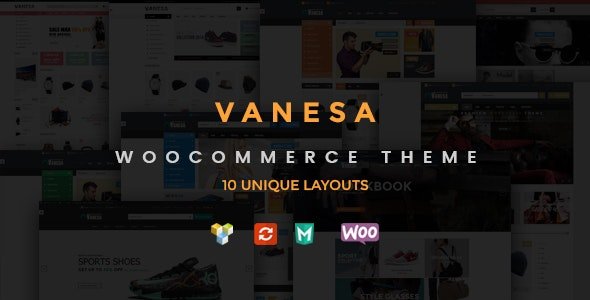 Vanesa - Responsive WooCommerce Fashion Theme - WooCommerce eCommerce