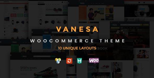 Vanesa - Responsive WooCommerce Fashion Theme