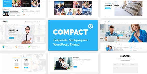 Compact - Corporate Multipurpose WordPress Theme - Business Corporate