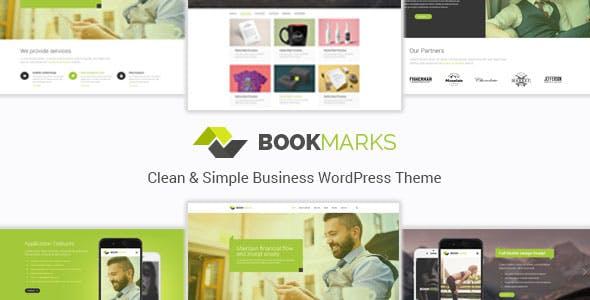 Bookmarks - Simple Business WordPress Theme