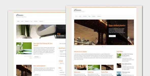 Cleanex - Minimalist Business WordPress Theme