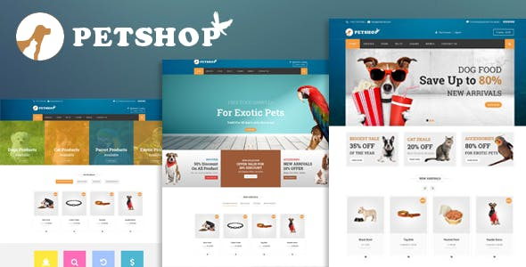 Petshop: A Creative WooCommerce theme