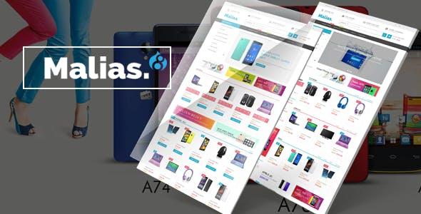 Malias - Responsive Drupal Commerce Theme