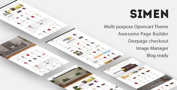 Ave Simen - Multi-purpose Reponsive Opencart Theme - OpenCart eCommerce