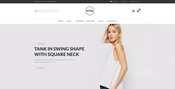 Nitan – Fashion WooCommerce WordPress Theme