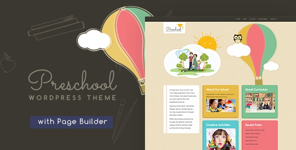 Preschool WordPress Theme - Education WordPress