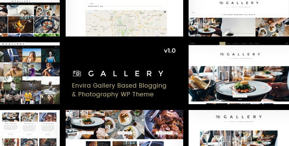 Gallery - Blogging & Envira WordPress Theme - Photography Creative