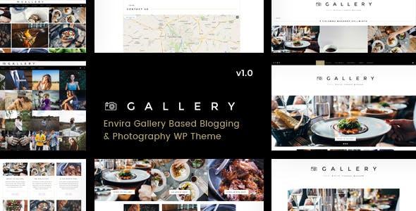 Gallery - Blogging & Envira WordPress Theme