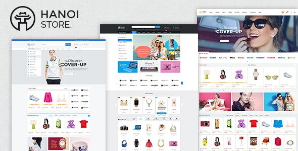 HanoiStore - Supermarket eCommerce PSD Template - Shopping Retail