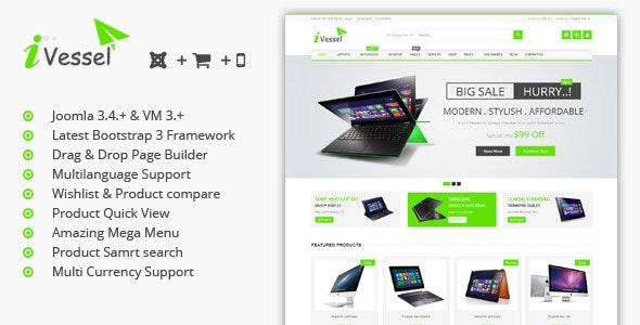 iVissel - MultiPurpose Responsive Virtuemart Joomla Template - VirtueMart Joomla