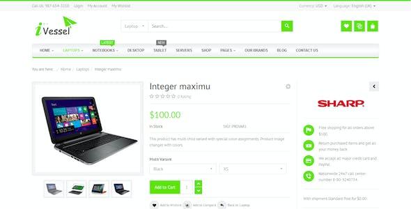 iVissel - MultiPurpose Responsive Virtuemart Joomla Template