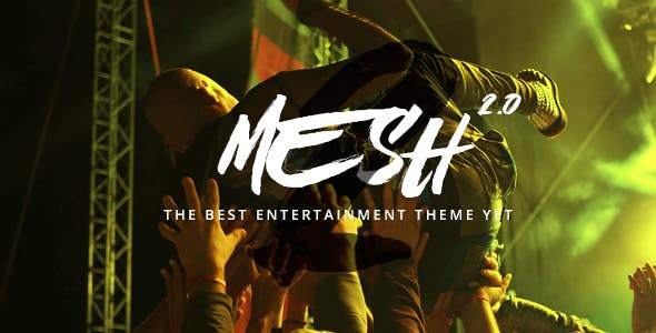 MESH | Music, Band, Musician, Event, Club Theme