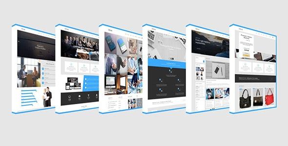 The Dream Multipurpose Responsive HTML5 Template - Corporate Site Templates