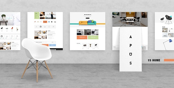 Apus - Multipurpose Funirure Shop,Interior Agency Psd Template - Creative PSD Templates