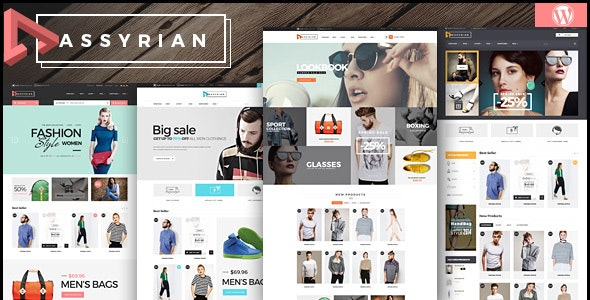Assyrian - Responsive Fashion WordPress Theme - WooCommerce eCommerce