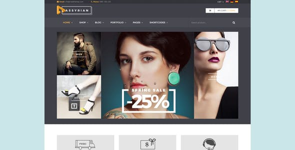 14aa8f81c5e3 ... Assyrian - Responsive Fashion WordPress Theme