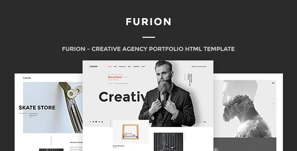 Furion - A Responsive HTML Template for Creative Agencies - Portfolio Creative