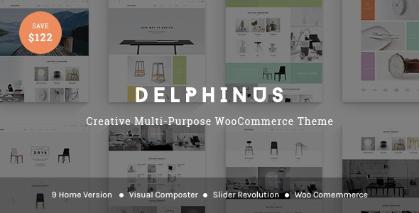 Delphinus - Creative Multi-Purpose WooCommerce Theme - WooCommerce eCommerce